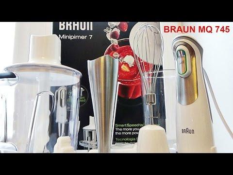 Блендер Braun Multiquick 745 Полный обзор Hand blender