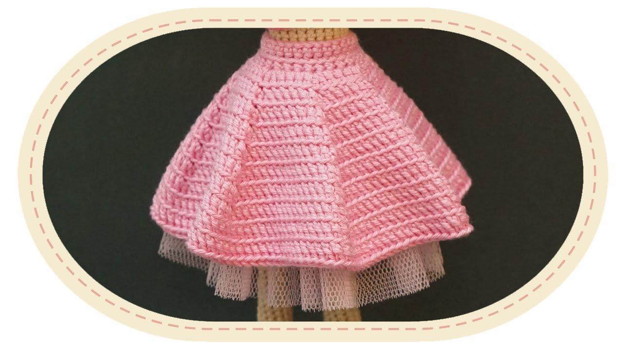 Вязание для кукол спицами юбок для