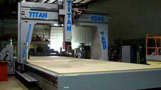 CNC Motion | 5A612 5-Axis CNC Router