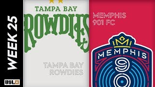 Tampa Bay Rowdies vs. Memphis 901 FC August 24th, 2019