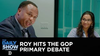 On Location at Business Insider's GOP Primary Debate | The Daily Show