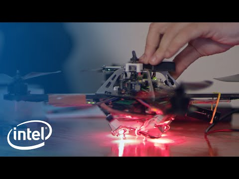 The Making Of Drone 100 | Intel