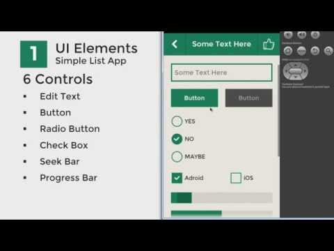 Android Ui Flat Design Youtube