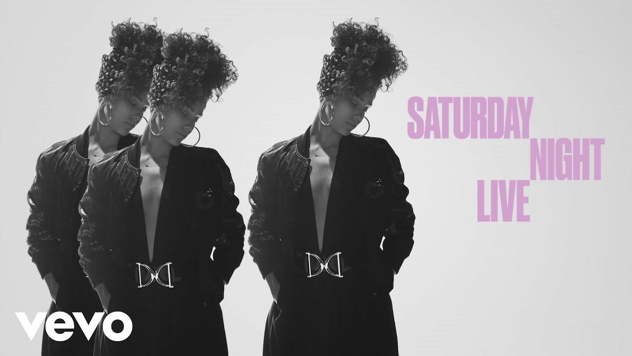 Alicia Keys - Hallelujah (Live From SNL)