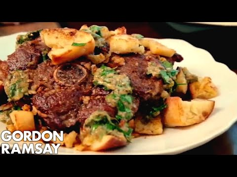 Lamb with Fried Bread - Gordon Ramsay