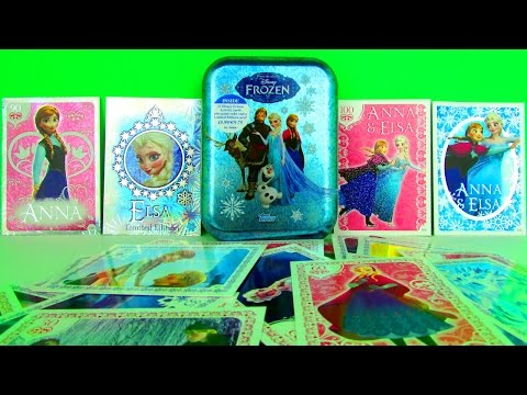 Disney Frozen Activity Cards Collectors Tin & Card Packs Opening & Review. Topps