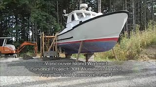 Project Boat Propeller Shaft Removal Part 1