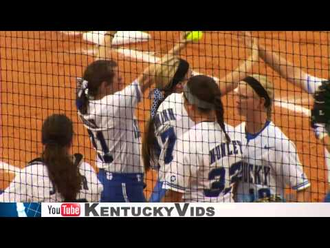 Kentucky Wildcats TV UK Softball Wins in a Thriller vs Marshall in NCAA Opening Round
