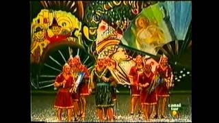 """Chirigota-""""El Rey Mauricio y Sus Fenicios"""" (1996) Pasodoble-""""Al llegar a los ensayos""""-by mangla.avi"""