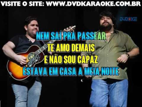 César Menotti & Fabiano   Não Era Eu