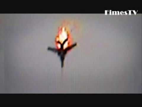 Avião abatido na Ucrânia
