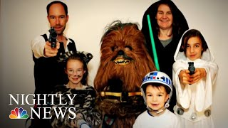 Star Wars-Loving Family Builds Massive Millennium Falcon On Their Roof | NBC Nightly News