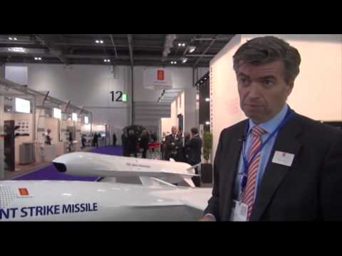 Kongsberg NSM Naval Strike Missile and JSM Joint Strike Missile at DSEI 2013