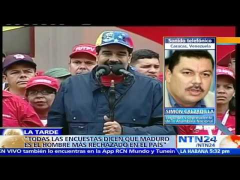 """El discurso de Nicolás Maduro """"no hace más que poner peor la situación de su gobierno"""": Diputado"""