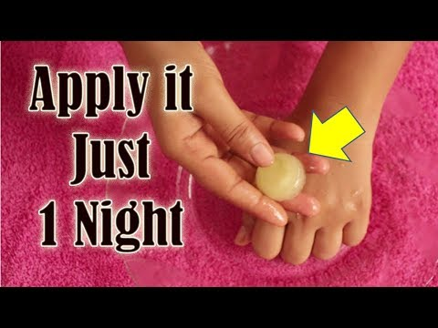 Apply it just 1 night & SEE THE MAGIC
