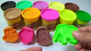 Đất Sét Play Doh-Nặn đất sét thành con voi, cây kem , chiếc nón-Play Doh Peppa Pig