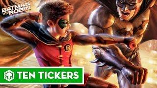 Top 10 bộ phim hoạt hình DC hay nhất | Ten Tickers No. 102