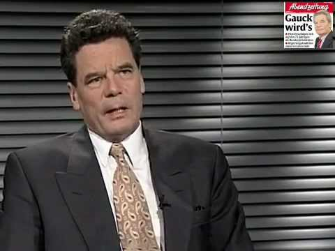 Joachim Gauck (1993) Interview