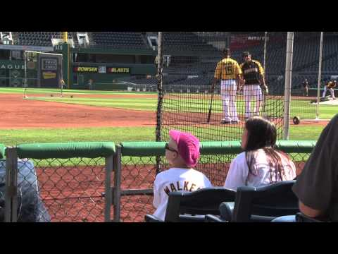 Lending Hearts- A Day with the Pittsburgh Pirates