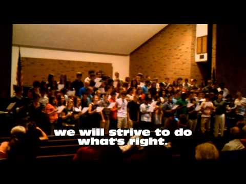 Great Lakes Adventist Academy school song.wmv - 10/11/2011