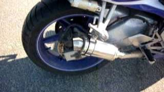 Honda CBR 600 F3 exhaust sound dominator moto GP db killer in