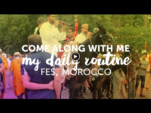 Fes, Morocco: My Daily Rountine   CreativeChameleon