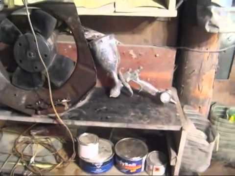 Вытяжка в гараж видео