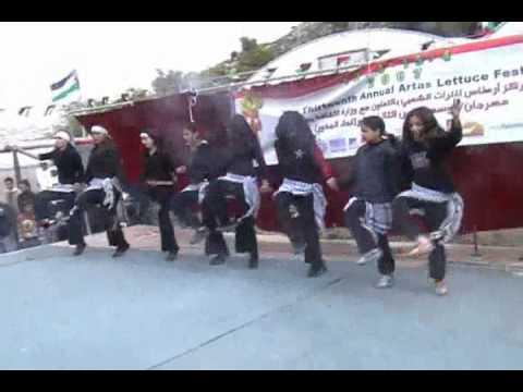 دبكة بنات  فلسطين اغنية يا هلا حيو الضيوف HQ Music Videos