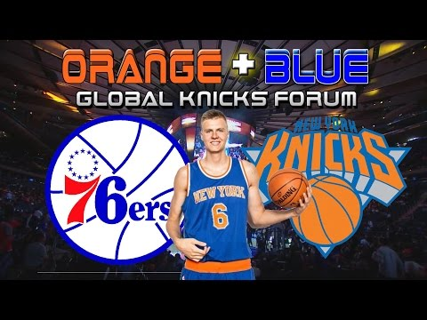 NY Knicks FULL GAME Highlights vs 76ers (12/2/15) No Okafor? NO PROBLEM FOR KP!