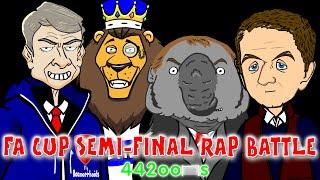 ☕️FA CUP RAP BATTLE - Semi Finals☕️(Aston Villa vs Liverpool 2-1 Reading vs Arsenal 1-2 14/15)