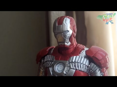 Review Iron Man Mark V Sci-Fi Revoltech Series No. 041