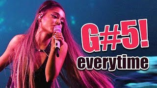 """(G#5) Ariana Grande's Live """"High Note"""" Attempts in Everytime 2018-2019"""
