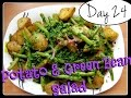 Trying Laura's Potato & Green Bean Salad…