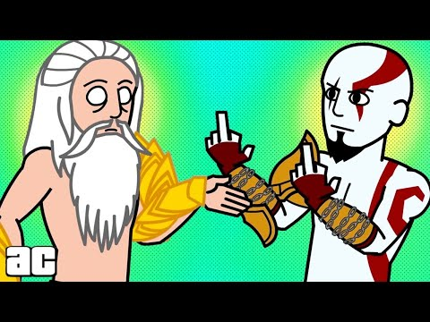 God of War ENTIRE Story in 3 minutes! (God of War Animation) thumbnail