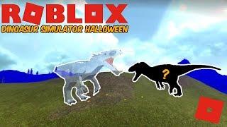 Roblox Dinosaur Simulator Halloween - Brand New Allosaurus Remodel! + Exploiter Battle!