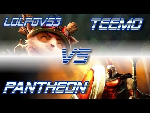 ► LoLPoV - Teemo vs Pantheon [Top] (League of Legends Live Commentary)