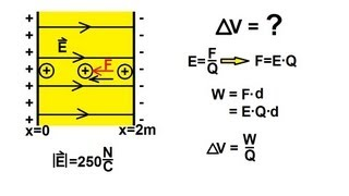 Physics - Electrical Potential and Electrical Potential Energy (1 of 6)