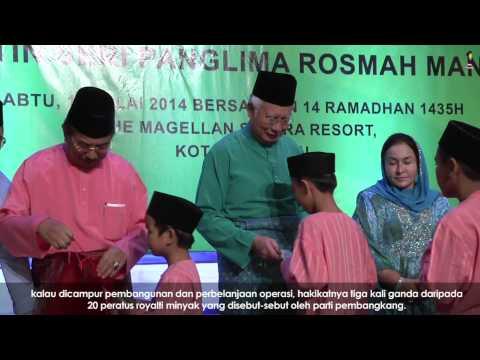Najib Razak : Majlis Berbuka Puasa & Makan Malam Y.A.B PM Bersama Rakyat Sabah