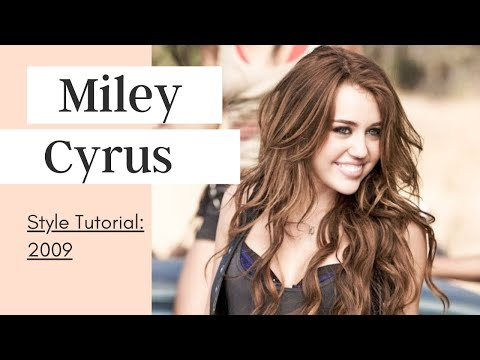 Miley Cyrus Style Tutorial: Makeup + Hair + Fashion