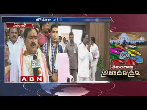 TRS Candidate Errabelli Dayakar Rao Face to Face Telangana Elections 2018  | ABN Telugu