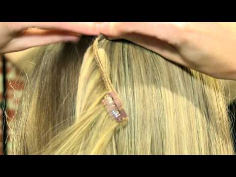 Hair extensions - how to apply I&K clip in hair extensions