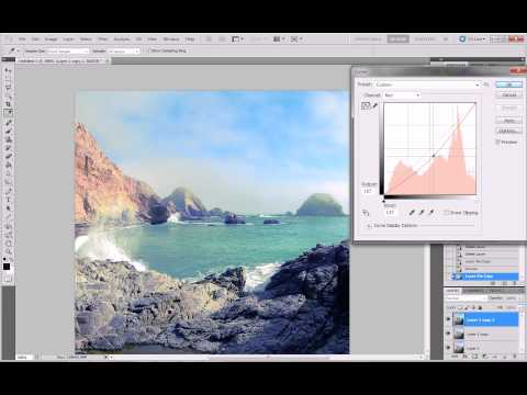 Photoshop Tips & Tutorials #3 'Curves'