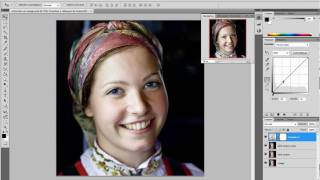 Tutoriel vidéo - video tutorial : Retoucher un visage avec Photoshop