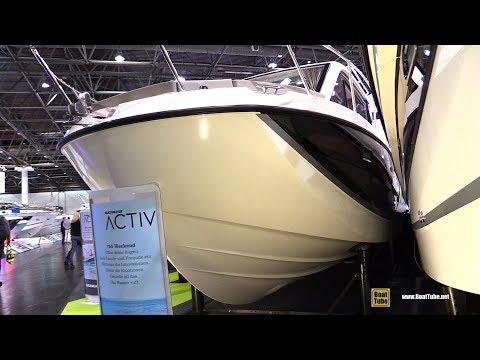 2018 Quicksilver Activ 755 Weekend Motor Boat - Walkaround - 2018 Boot Dusseldorf Boat Show