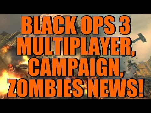 Black Ops 3: Multiplayer, Campaign, and Zombies Details/News Roundup! (TONS of Information!)