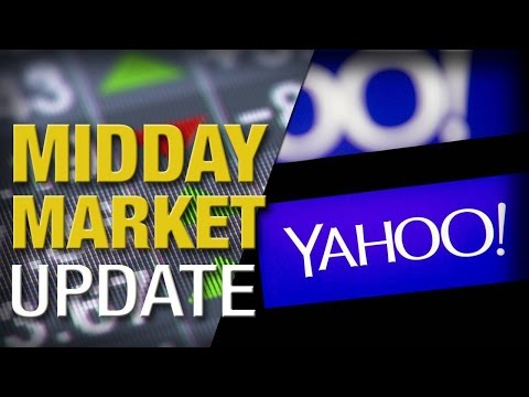 Stocks Rebound From Friday's Slump; Yahoo! Climbs