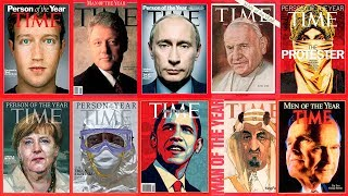 """Person of the Year"" all covers of Time magazine"