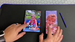 Samsung Galaxy Fold Vs Note 10 Plus Samsung what have you done?!?!