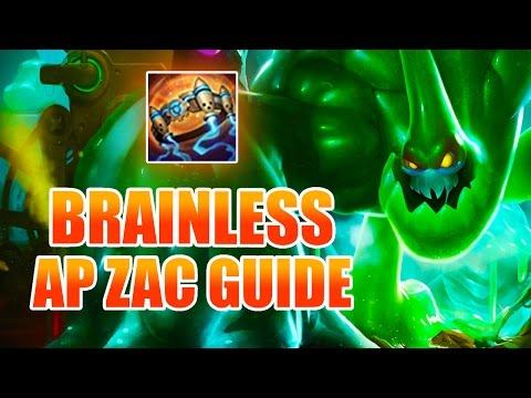 BRAINLESS FULL AP ZAC GUIDE [ League of Legends ]