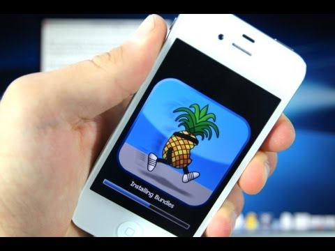 How To Jailbreak iOS 6 iPhone 4/3Gs iPod Touch 4G & Install Cydia - 6.0.1/6.0 Redsn0w 0.9.15b3